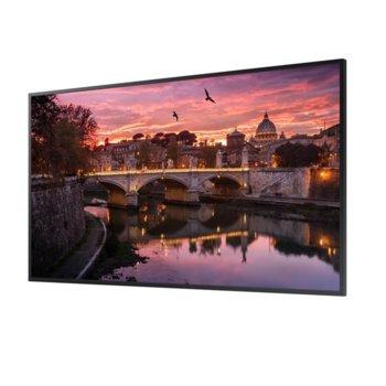 """Публичен дисплей Samsung LH43QBREBGCX/EN, 43"""" (109.22cm) 4K UHD Edge LED BLU, HDMI, DVI-D image"""