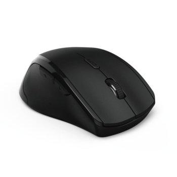 Мишка HAMA Riano 182645, оптична (1600dpi), Лява ръка, USB, Черна image