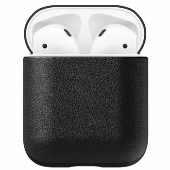Защитен калъф Nomad Leather Case за Apple Airpods, естествена кожа, черен image