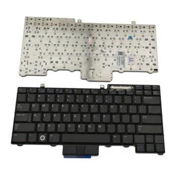 Клавиатура за лаптоп Dell, съвместима с модели Precision M2400/M4400/E5400/E5410/E5500/E5510/E6400/E6410/E6500/E6510, US, черна image