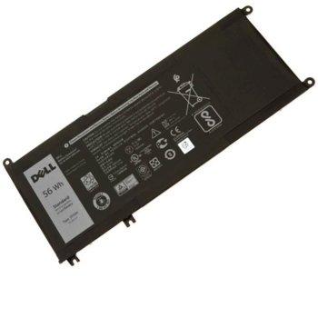 Батерия (оригинална) за лаптоп Dell, съвместима с Inspiron 15/7577/17/7773/7778/VOSTRO, 15.2V, 3600mAh image