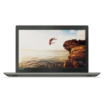 "Лаптоп Lenovo IdeaPad 520 (80YL00TABM)(сив), двуядрен Kaby Lake Intel Core i5-7200U 2.5/3.1 GHz, 15.6"" (39.62 cm) Full HD IPS дисплей & Nvidia GeForce 940MX 4GB(HDMI), 8GB DDR4, 256GB SSD, 1x USB-Type C, Free DOS, 2.2 kg  image"