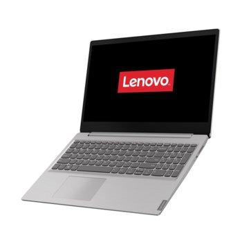 "Лаптоп Lenovo Ideapad S145-15IGM (81MX0038RM)(сив), четириядрен Gemini Lake Intel Celeron Processor N4100 1.1/2.4 GHz, 15.6"" (39.62 cm) Full HD TN Anti-Glare 220 nits Display, (HDMI), 4GB DDR4, 256GB SSD, 2x USB 3.0, Free DOS  image"