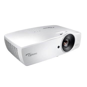 Проектор Optoma EH461, DLP, Full HD (1920x1080), 20 000:1, 5000 lm, LAN, HDMI, VGA, USB image