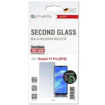 Протектор от закалено стъкло /Tempered Glass/, 4Smarts 4S496016 за Huawei Y7 Pro 2019 image