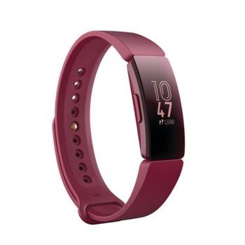 Смарт гривна Fitbit Inspire, акселерометър, водоустойчивa, до 5 дни време на работа, Bluetooth 4.0, червена image