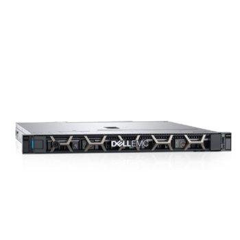 Сървър Dell PowerEdge R240 (PER240CEE01), четириядрен Coffee Lake Intel Xeon E-2124 3.3/4.3 GHz, 8GB DDR4 ECC UDIMM, 2x 1TB HDD, 2x 1GbE LOM, 3x USB 3.0, без ОС, 250W PSU image