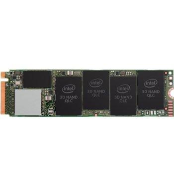 Памет SSD 512GB Intel 660p, NVMe, M.2 (2280), скорост на четене 1500 MB/s, скорост на запис 1000 MB/s image