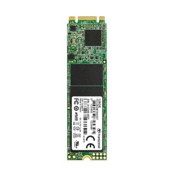 Памет SSD 128GB Transcend TS128GMTS930T, NVMe, M.2 2280, скорост на четене 550 MB/s, скорост на запис 500 MB/s image