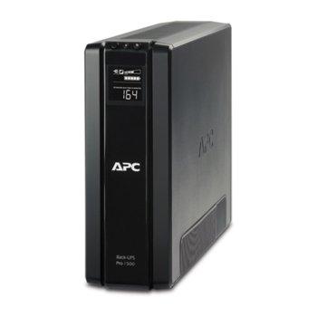UPS APC Power-Saving Back-UPS Pro, 1500/965W, Line Interactive image