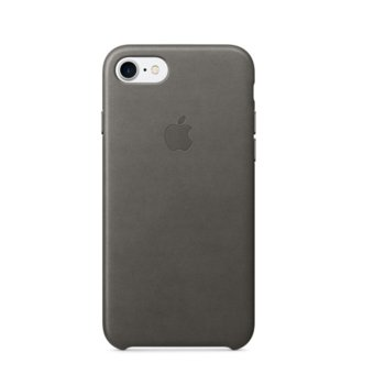 Apple iPhone 7 Leather Case mmy12zm/a Storm Gray product