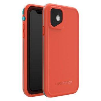 Калъф за Apple iPhone 11, LifeProof Fre 77-62488, ударо и водоустойчив, оранжев image