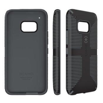 Калъф за HTC One M8, гумен, Speck, CandyShell Grip Black/Slate, черен image