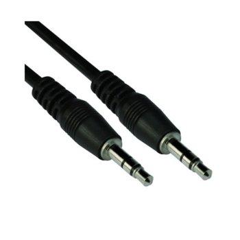 Кабел VCom CV201, 3.5mm Jack(м) към 3.5mm Jack(м), 1m, черен image