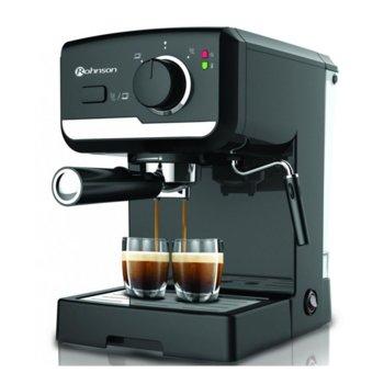 Ръчна еспресо машина Rohnson R 969, 925 W, 15 bar, черна image