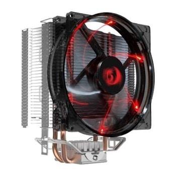 Охлаждане за процесор Redragon Reaver (CC-1011), съвместимост със сокети LGA 115X & AMD AM4, червена подсветка image