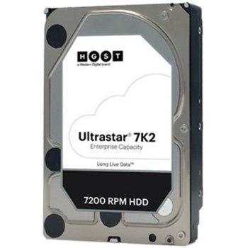 """Твърд диск 1TB HGST Ultrastar 7K2, SATA 6Gb/s, 7200 rpm, 128MB, 3.5"""" (8.89 cm) image"""
