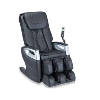 Масажиращ стол Beurer MC 5000 HCT, Shiatsu massage, 3 програми, 4 масажни глави, черен image