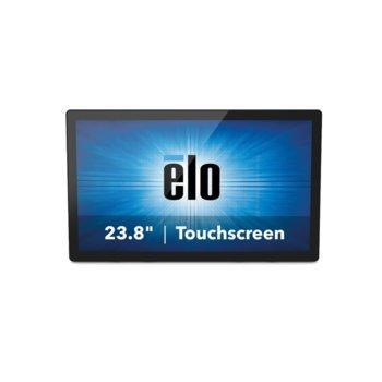 """Монитор Elo 2495L, 23.8""""(60.45 cm) тъч панел, Full HD, HDMI, DisplayPort, VGA image"""