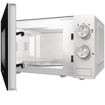 Микровълнова фурна Gorenje MO20E1W, електронно управление, 800W, бяла image