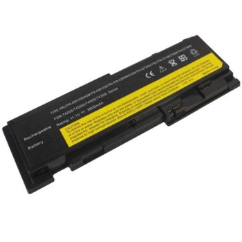 Батерия (заместител) за лаптоп Lenovo, съвместима с модели T420s/T420si/T430s/T430si, 6-cell, 11.1V, 3600-3900mAh image