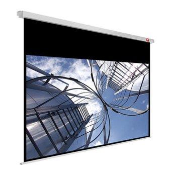 """Екран Avtek Business Pro 240, ръчен за монтаж на стена или таван, Matt White, 2400 x 2000 мм, 107"""", 16:10  image"""