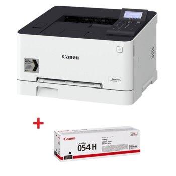 Лазерен принтер Canon i-SENSYS LBP623Cdw в комплект с тонер касета Canon CRG-054H BK, цветен, 600 x 600 dpi, 21 стр/мин, LAN, Wi-Fi, A4 image