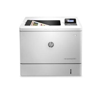 Лазерен принтер HP Color LaserJet Enterprise M552dn, цветен, 1200x1200 dpi, 33 стр/мин, двустранен печат, LAN, USB, А4 image
