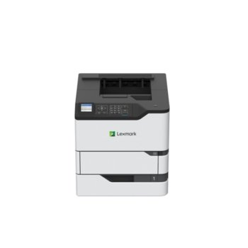 Лазерен принтер Lexmark MS826de, монохромен, 1200 x 1200 dpi, 66 стр.в мин., LAN1000, USB, А4 image