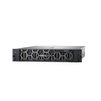 Сървър Dell PowerEdge R7515 (PER751501A), осемядрен AMD EPYC 7262 3.2/3.4GHz, 32GB DDR4 R DIMM, 2x480GB SSD, 2x 1GbE, 2x USB 3.0, без ОС, 1x 750W PSU image