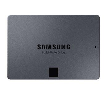 """Памет SSD 4TB Samsung 860 QVO, SATA 6Gb/s, 2.5"""" (6.35cm), скорост на четене 550MB/s, скорост на запис 520MB/s image"""