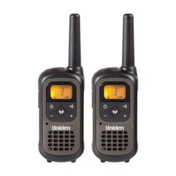 Радиостанции Uniden PMR1207-2, 8 канала, до 8 km обхат, черни image