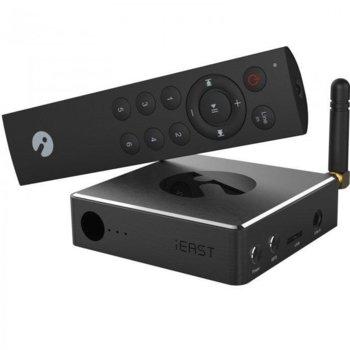 Медиа плейър iEAST Stream Pro M30, Wi-Fi, RJ45, черен image