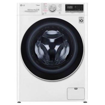 Перална машина LG F2WN4S7S0, клас A+++, 7 кг. капацитет, 1200 оборота, 14 програми, свободностояща, 9 бр. допълнителни опции, 60 cm ширина, бяла image
