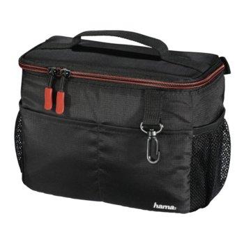 """Чанта за видеоапарат Hama """"Fancy"""" 139869, за видеокамера и аксесоари, политекс, размер 120, черна image"""