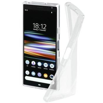 Калъф за Sony Xperia 10 Plus, полиуретан, Hama Crystal Clear, прозрачен image