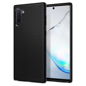 Калъф за Samsung Galaxy Note 10, термополиуретанов, Spigen Liquid Air 628CS27373, черен-мат image