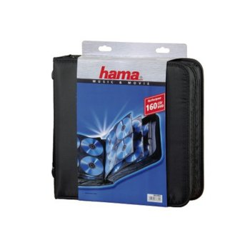 Класьор HAMA (33834), за 160 диска image