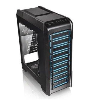 Кутия Thermaltake Versa N23, ATX/Micro ATX, USB 3.0, черна, без захранване image