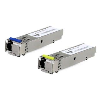 SFP модул Ubiquiti UF-SM-1G-S, LC интерфейс, BiDi, до 3000m, single-mode image