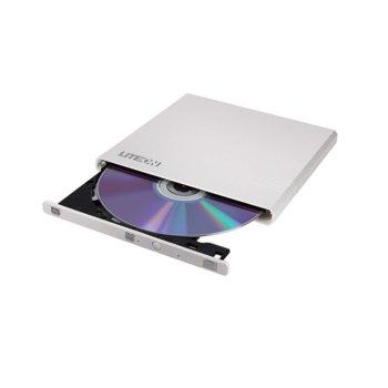 Оптично устройство LiteON EBAU108-21, външно, USB, четене/записване, бяло image