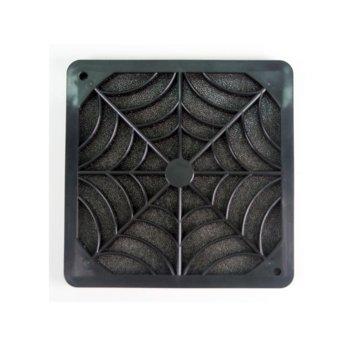 Филтър за вентилатори, Evercool FGF-120/P, 120mm, черен image
