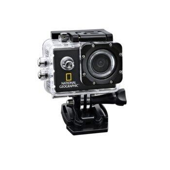 """Екшън камера Bresser National Geographic Full-HD Action WP, камера за екстремен спорт, Full HD, 1.5"""" (3.8 cm) TFT дисплей, microSD слот, Micro HDMI image"""