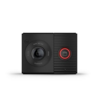 Видеорегистратор Garmin Dash Cam Tandem, за автомобил, 1x 1440P & 1x 720P камери, гласов контрол, Micro SD/SDHC слот, микрофон image
