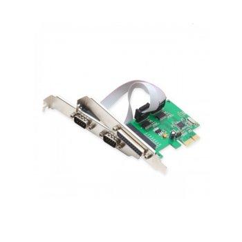 Контролер PCI-E към 2x RS232 + Parallel Port image