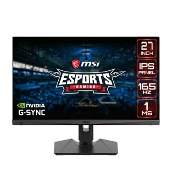 """Монитор MSI OPTIX MAG274R2, 27"""" (68.58 cm) IPS панел, 165Hz, Full HD, 1ms, 100000000:1, 300cd/m2, DisplayPort, HDMI, USB Type C, USB Hub image"""