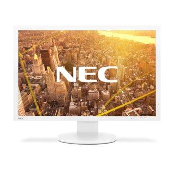 "Монитор NEC PA243W, 24""(60.96 cm), IPS панел, WUXGA, 8ms, 1000:1, 350 cd/m2, DisplayPort, HDMI, DVI-D, VGA, USB image"