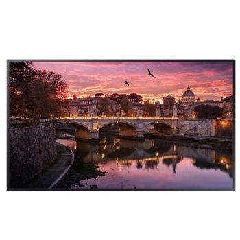 "Публичен дисплей Samsung QB55R (LH55QBREBGCXEN), 55"" (139.7 cm) Ultra HD, WiFi, Bluetooth, HDMI, DVI-D, USB, RJ-45, RS232C image"