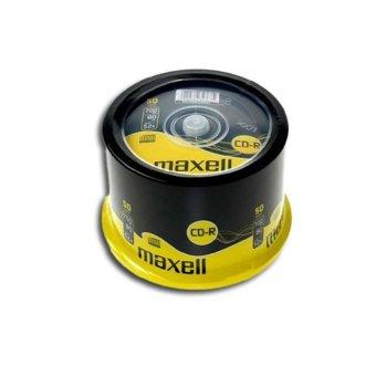 Оптичен носител CD-R80 700MB, Maxell, 50 бр. image