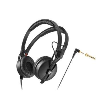 Слушалки Sennheiser HD 25 Classic DJ, 16Hz-22kНz честотен диапазон, 1.5 м ĸaбeл, черни image
